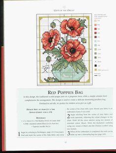 BISCORNU, ALFILETEROS, GUARDATIJERAS, ....A PUNO DE CRUZ (pág. 9) | Aprender manualidades es facilisimo.com