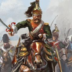 Earl of Uxbridge at Waterloo WIP by Mitchellnolte on DeviantArt Magick Book, Empire, Battle Of Waterloo, War Film, Occult Art, Film Inspiration, Game Workshop, Napoleonic Wars, Armies