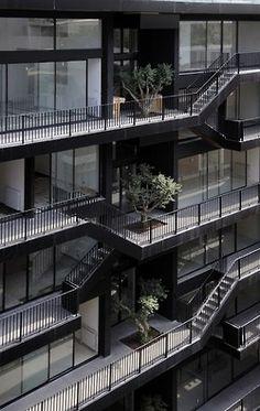 Architecture - black _ noir