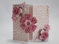 Card designed by Phillipa Lewis using Craftwork Cards Rosa Collection.