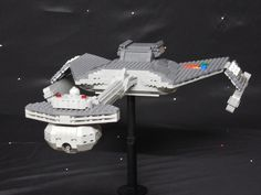 Klingon D-7 battlecruiser : A LEGO® creation by clayton Marchetti : MOCpages.com