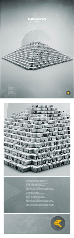 PYRAMID SONG (Radiohead) on Behance