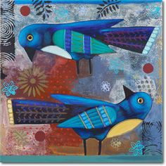 Blue Birds - SkylineArtEditions.com