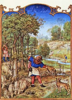 Grimani Breviary The Month of November 1490-1510.