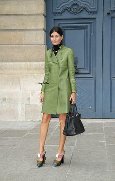 Apollinas › Giovanna Battaglia: The lower I feel, the higher the heel!