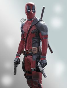 #Deadpool #Fan #Art. (DeadPool: Tributo to the film) By: Andrea Petrosino. ÅWESOMENESS!!!™ ÅÅÅ+