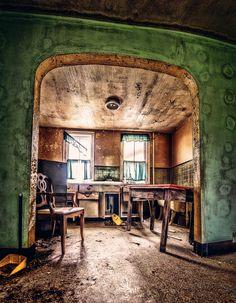 """"""" Abandoned house. """""""