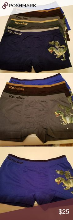 Young Boys Underwear Set of 5 Brand New Young Boys Underwear Set of 5 and I bought these for my son but they are to small for him so I don't have any tag but they are BRAND NEW and in excellent condition too Knocker Accessories