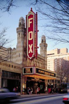 The Fox Theatre is one of Atlanta, Georgia's beloved landmarks.