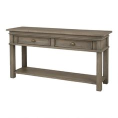 Chateau Console Table -Silvermoon