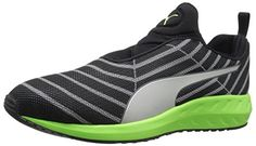 PUMA Mens Flare Slipon Sneaker BlackGreen GeckoPolyurethane 7 D US ** Want additional info? Click on the image.