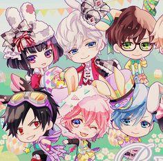 b-project kodou ambitious gifs Anime Music, Anime Art, Anime Chibi, Kawaii Anime, Bts Art, Web Comics, Cute Fairy, Cute Posts, Cute Chibi