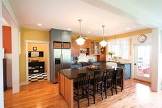 Hoagland Feature Home Kitchen - Lake and Home Mag Online