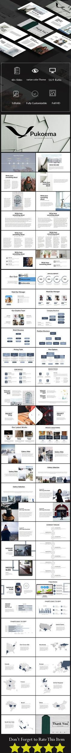 Pukoema Multipurpose PowerPoint Presentation Template