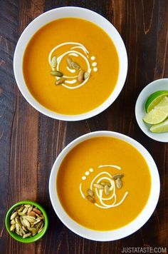 Thai Coconut Pumpkin Soup Recipe