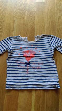 Luftiges Langarmshirt, blau/weiß gestreift