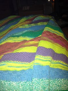 Love this knit blanket!
