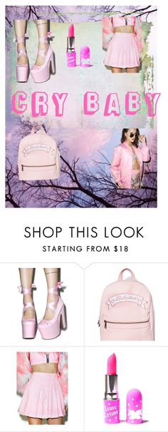 """""""Ahhhhh!!! RTD!!! THANK YOU ALL!!!"""" by rileykaren ❤ liked on Polyvore featuring Sugarbaby, 24HRS, Lime Crime and Petals and Peacocks"""