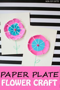Easy paper plate flo