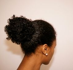 Wash Day Preparation- The Coconut Oil Bun | Curly Nikki |