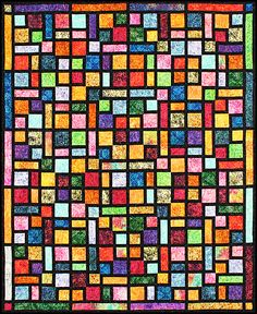 Turning Twenty® Stained Glass & Scraps (Book #8) by Tricia Cribbs www.TurningTwenty.com