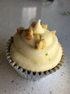 Carrot & Walnut Cupcakes
