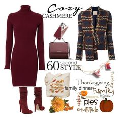 """""""60 Second Style: Family Thanksgiving  Dinner"""" by ellie366 ❤ liked on Polyvore featuring Autumn Cashmere, Casetify, Jolie By Edward Spiers, Erika Cavallini Semi-Couture, Givenchy, Minime, cashmere, thanksgiving, familydinner and turtleneckdress"""