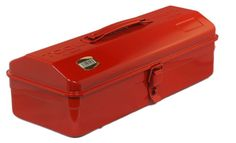 TRUSCO / STEEL TOOL BOX (359x150x124mm) / Y-350-R / MADE IN JAPAN #TRUSCO