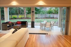 Sarpel Homes - supplied and installed by Timber Floors Pty Ltd 02 9756 4242 Home And Living, Living Rooms, Living Room Decor, Timber Flooring, Hardwood Floor, Timber Staircase, Beach Furniture, Inviting Home, Building A New Home