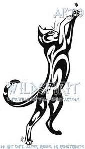 tribal cat tattoo designs - Yahoo Image Search Results