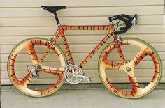 tigre vélo