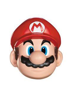 Ce masque de Super Mario™ sera parfait pour vous transformer en personnage de jeux vidéo et incarner le plus célèbre plombier de tous les temps.