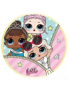 Toalla Playa Microfibra Redonda LOL Surprise Cupcake Toppers Free, Pool Accessories, Doll Party, Lol Dolls, Beach Towel, Summer Fun, Little Ones, Cool Things To Buy, Prints