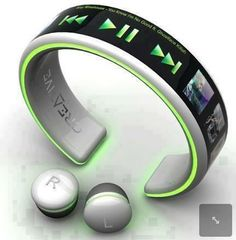 """Baladeur MP3 """"no more wires""""…"""