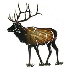 Next Innovations WA3DMElk Elk Refraxions 3D Wall Art, Medium by Next Innovations. $35.43. Measures 12.5-inch x 10-inch. Made in usa. Laser cut from 18 gauge steel. Brackets on the back that allow the product to hang away from the wall. Powder coated for rust resistance. Next Innovations Medium Elk Refraxions 3D Wall Art. Experience a whole new dimension in light reflective art. RefraXion pieces are laser cut from 18 gauge steel; powder coated for rust resistance and durable enoug...