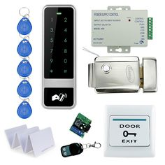 78.99$  Buy now - http://ali4nc.worldwells.pw/go.php?t=32752902735 - Remote Control RFID Keypad Door Access Control Security System Kit Set With Electronic Control Door Lock With Keys For Home-C50