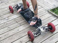 Off-Road Suspension Skateboards : gila board