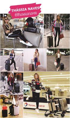 Looks de aeroporto de THASSIA NAVES  #aerolook