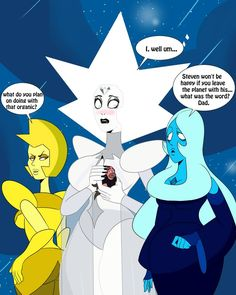 Souvenir by Sonson-Sensei on DeviantArt Steven Universe Drawing, Steven Universe Funny, Greg Universe, White Diamond Steven Universe, Steven Universe Lapidot, Adventure Time Girls, Thicc Anime, Cartoon Art, Girl Cartoon