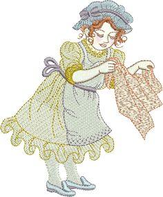 Sue Box Creations | Download Embroidery Designs | 17 - Hilda