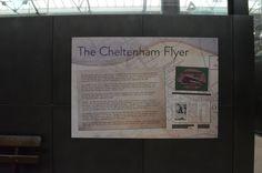 Swindon Steam Museum: Cheltenham Flyer information.  The name given to the Cheltenham express service to London Paddington