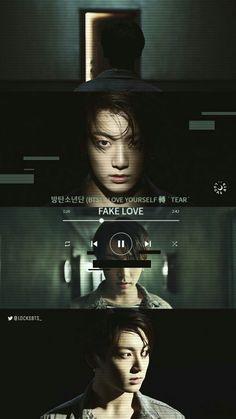 ❤️K-pop wallpapers❤️ - AriaRosemary Bts Bangtan Boy, Bts Jungkook, Kpop, Bts Lyric, Bts Backgrounds, Fake Love, About Bts, Bts Edits, Bts Lockscreen