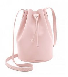 Everyone needs a drawstring bucket bag.