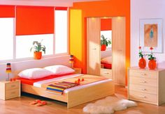 14 Modern Paint Colors, Trends in Interior Paint Colors Bright Bedroom Colors, Best Bedroom Colors, Bedroom Paint Colors, Bedroom Color Schemes, Paint Colors For Living Room, Bright Colors, Trendy Bedroom, Bedroom Sets, Diy Bedroom Decor
