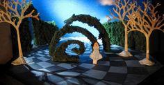 """Check out this @Beha - Check out this @Behance project: """"Conceptual Scenic Design for """"Alice in Wonderland"""""""" www.behance.net/... --- #Theaterkompass #Theater #Theatre #Schauspiel #Tanztheater #Ballett #Oper #Musiktheater #Bühnenbau #Bühnenbild #Scénographie #Bühne #Stage #Set"""