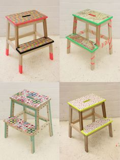 Step up the creativity and add some flair to BEKVÄM stools