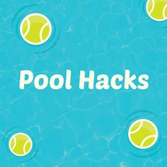 Pool maintenance hacks that you can employ to keep your swimming pool water clean, clear (and warm). Swimming Pool House, Swiming Pool, Swimming Pool Water, Pool Cleaning Tips, Cleaning Hacks, Pool Maintenance Cost, Outside Pool, Pool Hacks, Pool House Plans