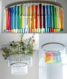 Test tubes, a science themed home