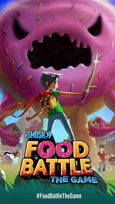 Food Battle: The Game (iOS & Android)