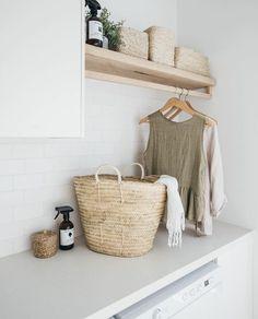 Home Decor / Minimal Interior Design Inspiration – Laundry Room İdeas 2020 Küchen Design, Home Design, Interior Design, Design Ideas, Diy Interior, Laundry Room Design, Laundry In Bathroom, Small Bathroom, Small Laundry